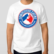 Official Competitive Eating Branded Tee